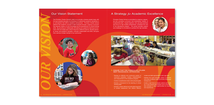 Strategic Plan Booklet Design | SP STUDIOS | Graphic